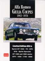 ALFA ROMEO GIULIA COUPES 1963 - 1976