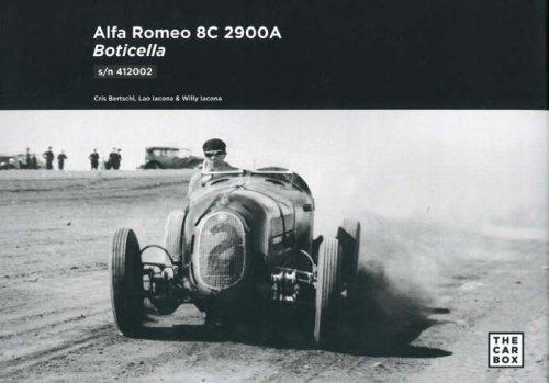 ALFA ROMEO 8C 2900A BOTICELLA S/N 412002