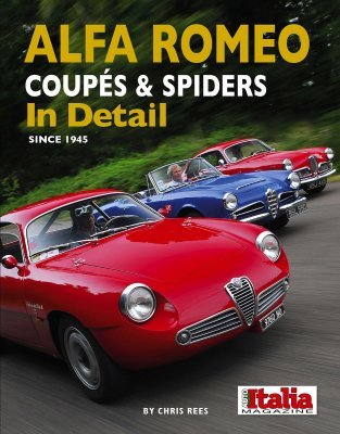 ALFA ROMEO COUPES AND SPIDERS IN DETAIL