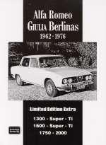 ALFA ROMEO GIULIA BERLINAS 1962 - 1976