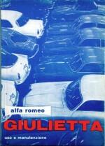 ALFA ROMEO GIULIETTA USO E MANUTENZIONE 2A SERIE