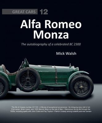 ALFA ROMEO MONZA - THE AUTOBIOGRAPHY OF A CELEBRATED 2211130