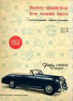 AUTOMOBIL REVUE 1951