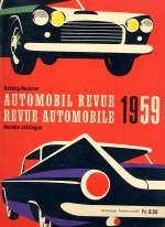 AUTOMOBIL REVUE 1959