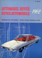 AUTOMOBIL REVUE 1962