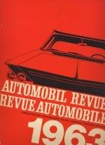 AUTOMOBIL REVUE 1963