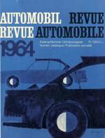 AUTOMOBIL REVUE 1964
