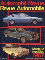 AUTOMOBIL REVUE 1967