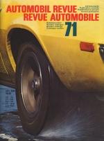 AUTOMOBIL REVUE 1971