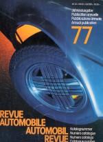 AUTOMOBIL REVUE 1977