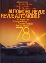 AUTOMOBIL REVUE 1978