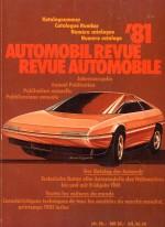 AUTOMOBIL REVUE 1981