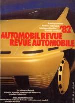 AUTOMOBIL REVUE 1982