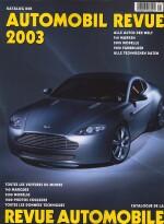 AUTOMOBIL REVUE 2003