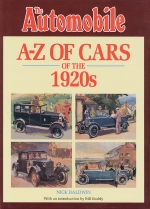 AUTOMOBILE A-Z OF CARS 1920S, THE