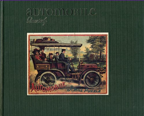 AUTOMOBILE QUARTERLY VOL.19 NO.4