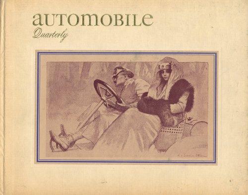 AUTOMOBILE QUARTERLY VOL. 3 NO.4