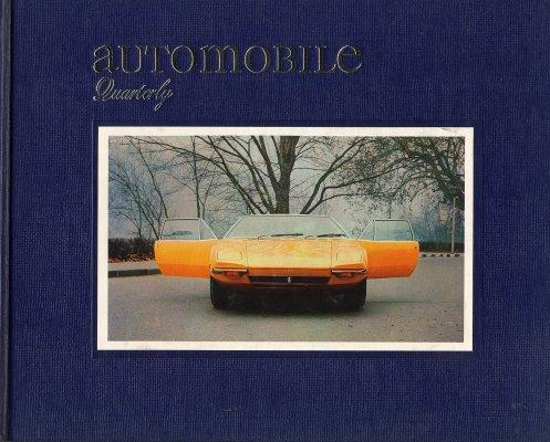 AUTOMOBILE QUARTERLY VOL. 8 NO.4