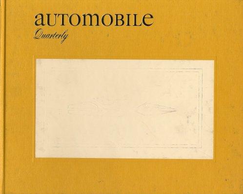 AUTOMOBILE QUARTERLY VOL. 9 NO.4