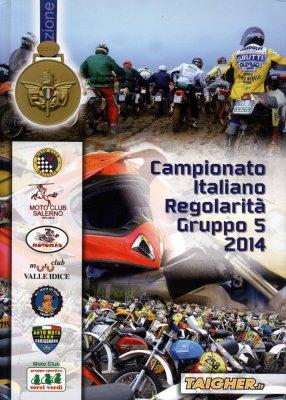 CAMPIONATO ITALIANO REGOLARITA' GRUPPO 5 2014