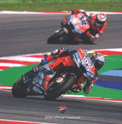 DUCATI 2018 OFFICIAL YEARBOOK