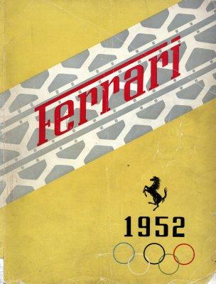 FERRARI 1952 (ANNUARIO UFFICIALE)