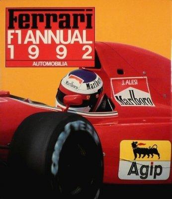 FERRARI F1 ANNUAL 1992