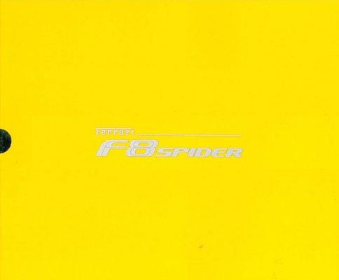 FERRARI F8 SPIDER (BROCHURE)