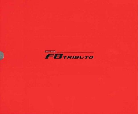 FERRARI F8 TRIBUTO (BROCHURE)