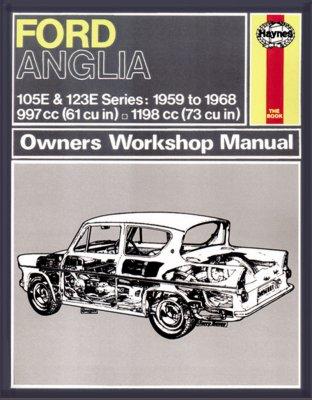 FORD ANGLIA 105E & 123E SERIES 1959 TO 1968 (001)