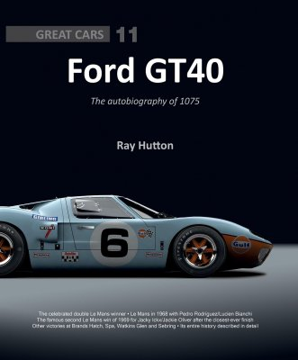 FORD GT40: THE AUTOBIOGRAPHY OF 1075