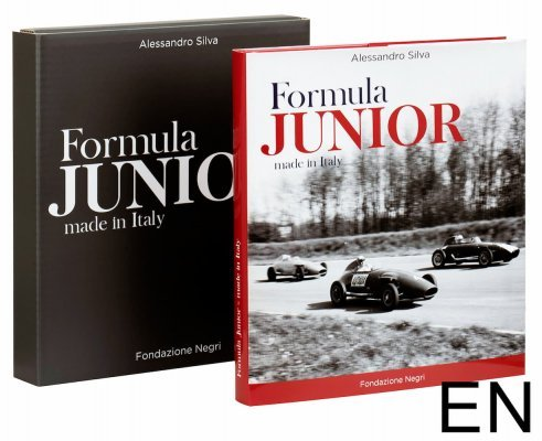 FORMULA JUNIOR MADE IN ITALY (ENGLISH EDITION)