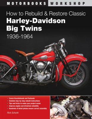 HOW TO REBUILD & RESTORE CLASSIC HARLEY-DAVIDSON BIG TWINS 1936-1964