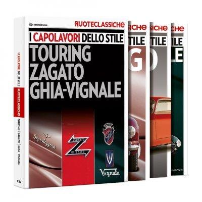 I CAPOLAVORI DELLO STILE GHIA - VIGNALE - TOURING - ZAGATO