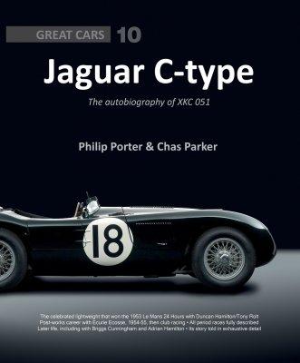JAGUAR C-TYPE THE AUTOBIOGRAPHY OF XKC 051