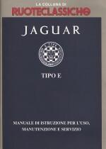JAGUAR E TYPE TIPO E USO E MANUTENZIONE