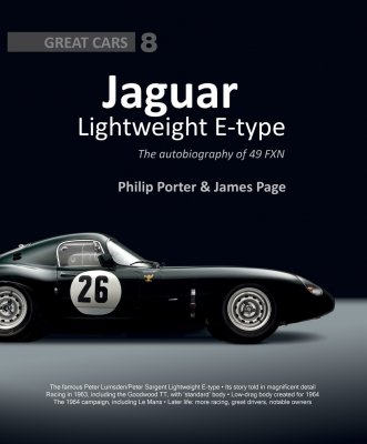 JAGUAR LIGHTWEIGHT E-TYPE - THE AUTOBIOGRAPHY OF 49 FXN