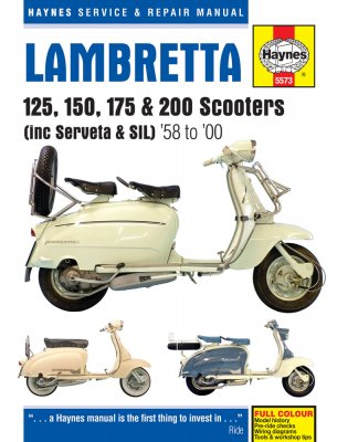 LAMBRETTA 125, 150, 175 & 200 SCOOTERS (5573)