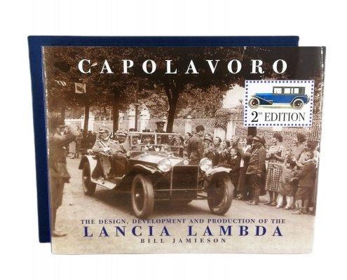 LANCIA LAMBDA CAPOLAVORO - ENGLISH EDITION (WITH SLIPCASE)