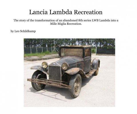 LANCIA LAMBDA RECREATION