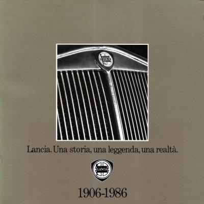 LANCIA UNA STORIA UNA LEGGENDA UNA REALTA' 1906-1986