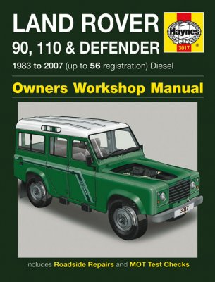 LAND ROVER 90, 110 & DEFENDER 1983 TO 2007