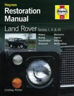 LAND ROVER SERIES I, II & III  HAYNES RESTORATION MANUAL (H622)
