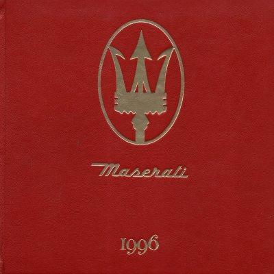 MASERATI 1996 AGENDA