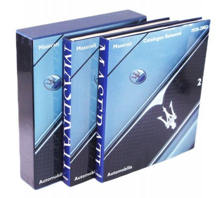 MASERATI CATALOGUE RAISONNE' 1926-2003 (2 VOL.)