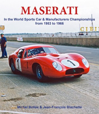 MASERATI IN THE WORLD SPORTS CAR & MANUFACTURERS CHAMPIONSHIPS