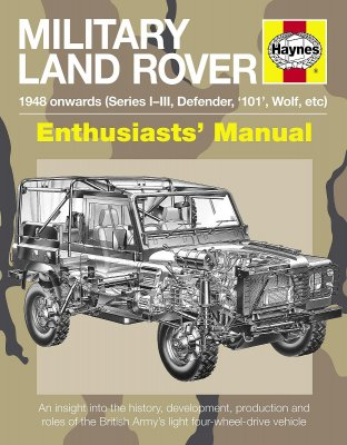 MILITARY LAND ROVER 1948 ONWARDS (SERIES I-III, DEFENDER, '101', WOLF, ETC) (H5080)