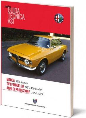 MINI GUIDA TECNICA ASI - ALFA ROMEO GT 1300 JUNIOR 1966-1975