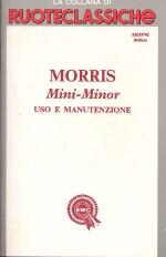 MORRIS MINI MINOR USO E MANUTENZIONE