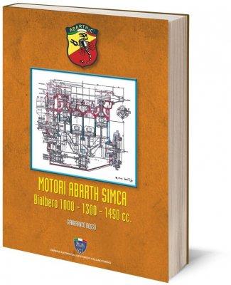 MOTORI ABARTH SIMCA BIALBERO 1000 - 1300 - 1450 CC.